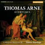 Thomas Arne (1710-1778): Ouvertüren Nr.1-8, CD