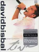 David Bisbal: Premonicion Live (2DVD + 2CD), 2 DVDs