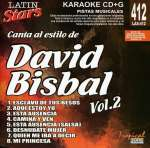 David Bisbal: Vol. 2-Karaoke Latin Stars, CD