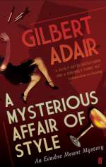 Gilbert Adair: A Mysterious Affair of Style, Buch