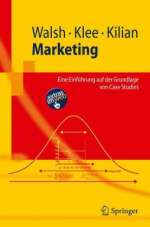 Gianfranco Walsh: Marketing, Buch