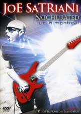 Joe Satriani: Satchurated: Live In Montreal 2010, 2 DVDs