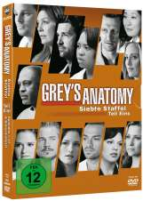 Grey's Anatomy Season 7 Box 1, 3 DVDs