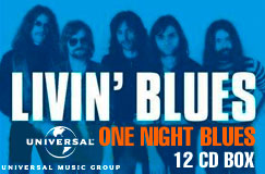 Livin' Blues: One Night Blues – Complete Album Collection (12 CDs)