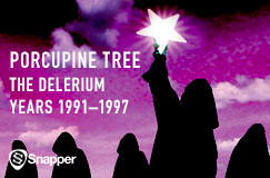 »Porcupine Tree: The Delerium Years 1991–1997 (Limited Edition Boxset)« auf 13 CDs