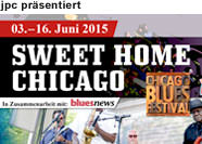 »Sweet Home Chicago« Blues Tour, 3. bis 16. Juni 2015
