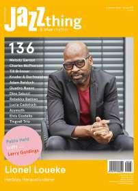Zeitschriften: JAZZthing - Magazin für Jazz (136) November - Januar 2021, ZEI