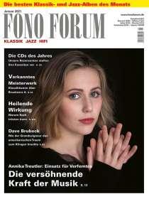 Zeitschriften: FonoForum Januar 2021, ZEI