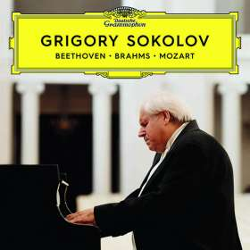 Grigory Sokolov - Beethoven / Brahms / Mozart, CD