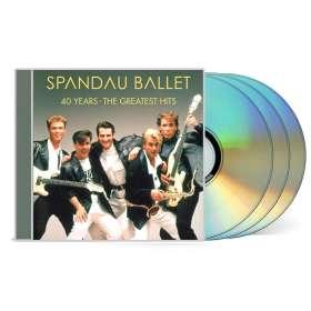 Spandau Ballet: 40 Years: The Greatest Hits, CD