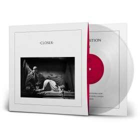Joy Division: Closer (40th Anniversary Remastered Edition) (180g) (Transparent Vinyl), LP