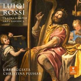 "Luigi Rossi (1598-1653): Kammerkantaten ""La Lyra d'Orfeo & Arpa Davidica"" (Deluxe-Edition / Hardcover-Booklet), CD"