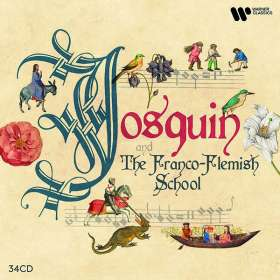 Josquin and the Franco-Flemish School, CD