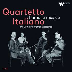 """Quartetto Italiano - The Complete Warner Recordings """"Prima la musica"""", CD"""