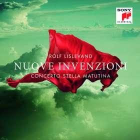 Rolf Lislevand & Concerto Stella Matutina - Nuove Invenzioni, CD