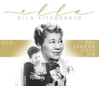 Ella Fitzgerald (1917-1996): Ella-The Legend Lives On, CD