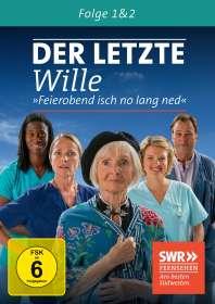 Ulrike Grote: Der letzte Wille Folge 1 & 2, DVD