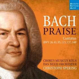 Johann Sebastian Bach (1685-1750): Kantaten BWV 26,41,95,115,137,140, CD