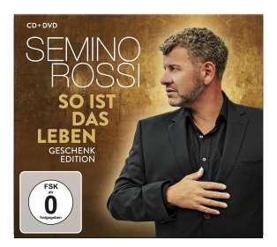 Semino Rossi: So ist das Leben (Geschenk-Edition), CD