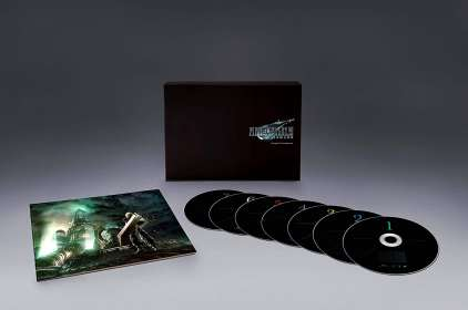 Filmmusik: Final Fantasy VII Remake and Final Fantasy VII (Limited Deluxe Boxset), CD