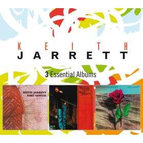 Keith Jarrett (geb. 1945): 3 Essential Albums, CD