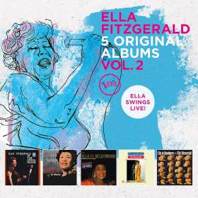 Ella Fitzgerald (1917-1996): 5 Original Albums Vol.2, CD