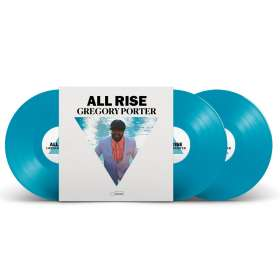 Gregory Porter (geb. 1971): All Rise (180g) (Limited Edition) (Blue Vinyl), LP