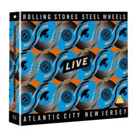 The Rolling Stones: Steel Wheels Live (Atlantic City 1989), CD
