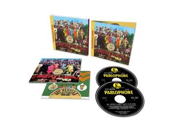 The Beatles: Sgt. Pepper's Lonely Hearts Club Band (50th-Anniversary-Edition), CD