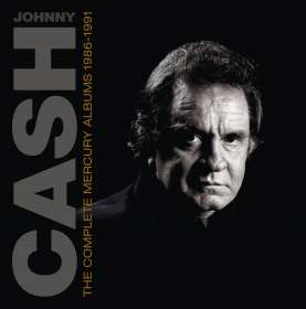Johnny Cash: Complete Mercury Albums 1986 - 1991 (Limited Box), CD