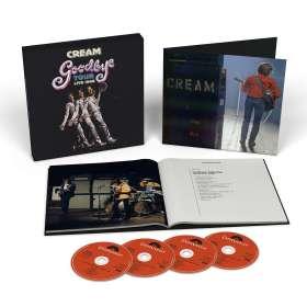 Cream: Goodbye Tour Live 1968 (Limited Box), CD