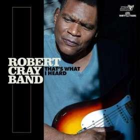 Robert Cray: That's What I Heard, CD