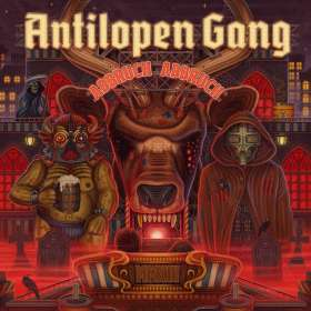 Antilopen Gang: Abbruch, Abbruch, CD
