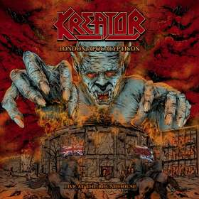 Kreator: London Apocalypticon - Live at the Roundhouse, CD