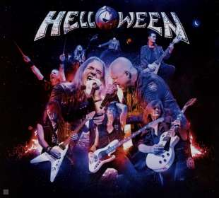 Helloween: United Alive In Madrid, CD