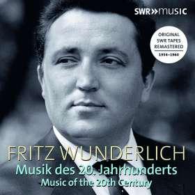 Fritz Wunderlich - Musik des 20. Jahrhunderts, CD