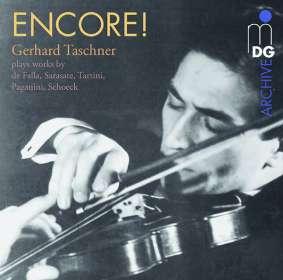 Gerhard Taschner - Encore! (180g), LP
