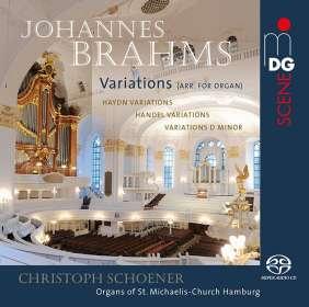 Johannes Brahms (1833-1897): Haydn-Variationen op.56 für Orgel, SACD