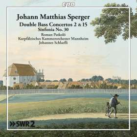 Johannes Matthias Sperger (1750-1812): Kontrabasskonzerte Nr.2 & 15, CD