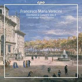 Francesco Maria Veracini (1690-1768): Ouvertüren & Concerti Vol.3, SACD