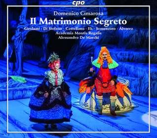 Domenico Cimarosa (1749-1801): Il Matrimonio Segreto, CD