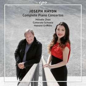 Joseph Haydn (1732-1809): Klavierkonzerte H18 Nr.1-6,8,10,11, CD