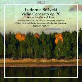 Ludomir Rozycki (1884-1953): Violinkonzert op.70, CD