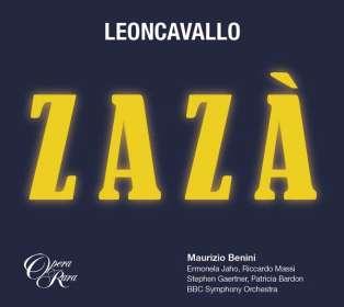 Ruggero Leoncavallo (1857-1919): Zaza, CD