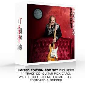 Walter Trout: Ordinary Madness (Limited Edition) (Box Set), CD