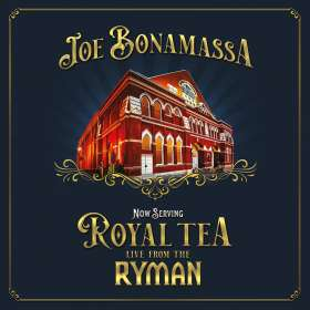 Joe Bonamassa: Now Serving: Royal Tea Live From The Ryman, CD