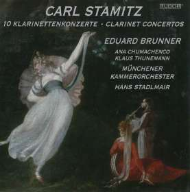 Carl Stamitz (1745-1801): 10 Klarinettenkonzerte, CD