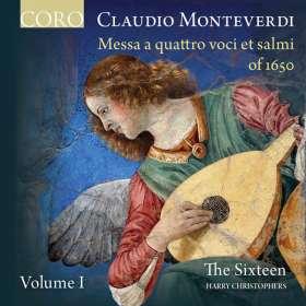 Claudio Monteverdi (1567-1643): Messa a quattro voci et salmi 1650 Vol.1, CD