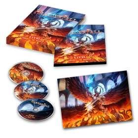 HammerFall: Live! Against The World, CD