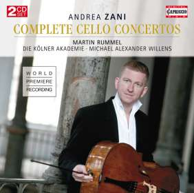 "Andrea Zani (1696-1757): Cellokonzerte Nr.1-12 ""Concerti per Camera"", CD"